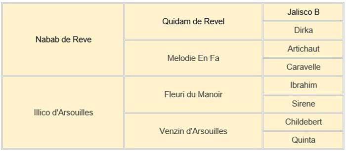 Vigo d'Arsouilles családfa